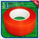 Doppeltes versah rotes Zwischenlage-Polyester-Band mit Seiten