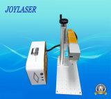 Tipo Handheld máquina portable de la marca del laser de la fibra para el plástico