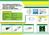 Vier Types van de Asferische Lens van het Glas van de Collimator voor de Producten van de Laser