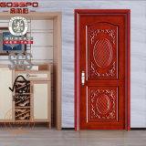 Gli S.U.A. alloggiano il portello di legno intagliato della stanza con il disegno del fiore (GSP2-022)