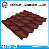 Tuiles de toit en acier revêtues de pierres classiques modernes