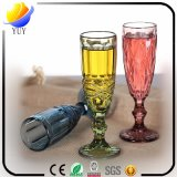 Fornitori che vendono il calice dipinto a mano di vetro di Champagne di colore