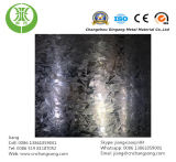 A chapa de aço galvanizada, zinca chapa de aço revestida
