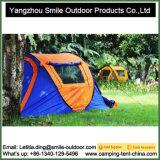 Il campeggio facile di impostazione di alta qualità automatico schiocca in su la tenda