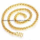 Оптовое ожерелье цепи покрынной меди золота гальванического омеднения 18k