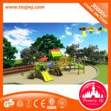 Equipamento plástico da corrediça do campo de jogos ao ar livre dos miúdos do parque de diversões