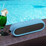 シリコーンカバーが付いているBluetoothの楕円形の小型無線スピーカー