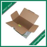 Boîte d'emballage en carton ondulé Carrydge pleine impression
