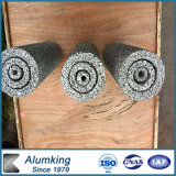 Mousse en aluminium pour le revêtement et la décoration des systèmes de façade