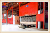 Horno de túnel para el ladrillo automático que hace la planta