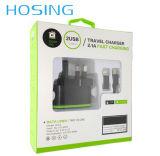 Tender el envío caliente del adaptador del recorrido del cargador del USB de la pared de los productos de China