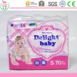 Пеленка OEM оптового продукта младенца устранимая для младенца