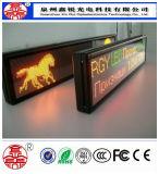 Elektronik Φ 5.0 Innen-LED-Matrix-Doppelfarben-Meldung, die Bildschirmanzeige-Zeichen bekanntmacht
