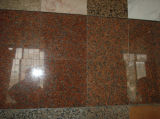 De opgepoetste Plak van het Graniet van de Esdoorn van de Plak Grantie Rode
