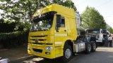 Semirimorchio del ribaltatore del camion del trattore degli assi di HOWO 6X4 3