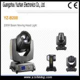 IP20段階200Wの点の移動ヘッドライト