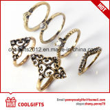 Nuovi insiemi dell'anello di barretta del diamante delle donne di stile di arrivo 6PCS/Set Boho