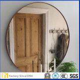 miroir argenté de sûreté de 6mm avec le film de support pour les portes coulissantes