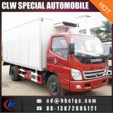 De kleine 5ton KoelVrachtwagen van de Vrachtwagen van het Vervoer van het Vlees van de Diepvriezer