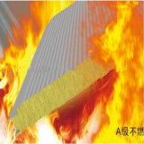 Панель сандвича шерстей утеса огнестойкости ранга для стены