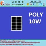18V 10W Polysolarzellen-Panel für System 12V (2017)