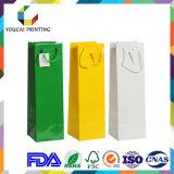 Затавренный оптовой продажей мешок подарка бумаги высокого качества для рынка покупкы