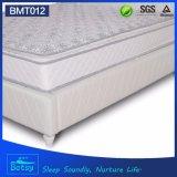 Solo diseño de lujo de la tapa de la almohadilla del colchón los 24cm de la talla del OEM Comprerssed con el resorte de Bonnell y la capa de la espuma