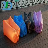 空気ソファのスリープ袋の屋外の折り畳み寝台の不精な空気ソファーの空気ラウンジ浜のSoafaの不精なソファ