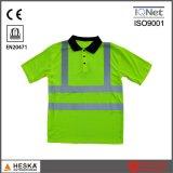 T-shirt van het Polo van de Veiligheid van Mens Workwear van de douane de Goedkope Geborduurde