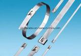 PVC revestido Cable Tie de a bordo