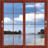 Schiebendes Fenster-Philippinen-Aluminiumentwurf mit Gitter-Entwurf für Windows