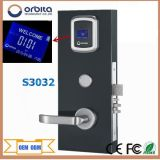 Fechamento de porta eletrônico S3032 do hotel de Digitas do padrão europeu de Orbita