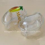 Transparenter Mangofrucht-Kuchen-Blasen-Kasten