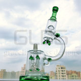 Труба водопровода Perc оптового микроскопа фабрики Китая стеклянная куря