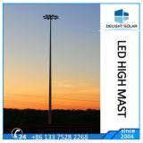 높은 돛대를 점화하는 8각형 Hot-DIP 직류 전기를 통한 폴란드 공항 항구 LED