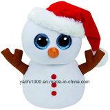 صنع وفقا لطلب الزّبون عيد ميلاد المسيح قطيفة يحشى ليّنة لعبة رجل ثلج