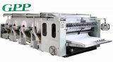Cadena de producción automática de alta velocidad del tejido facial máquina