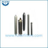 Tubo filtrante poroso sinterizado del metal del acero inoxidable para la materia textil