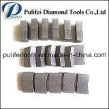 Segmento circular do cortador de diamante da ponta de estaca para o concreto do mármore do granito