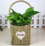 (BC-SF1019) Eco-Friendly Handmade 자연적인 밀짚 꽃 바구니