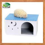 Chambre imperméable à l'eau multicolore de hérisson de cage de cobaye de cage de lapin de trou de jouet de chalet écologique de Chambre
