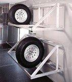 자동 차를 위한 타이어 선반