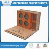Caixa de presente personalizada do papel da alta qualidade com a inserção do cartão para prender produtos de beleza