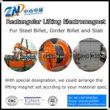 Прямоугольный поднимаясь Electro магнит для стального заготовки регулируя MW22