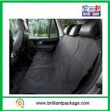 Cubierta de asiento plegable impermeable negra del animal doméstico para los coches