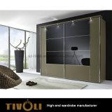 引き戸Tivo-0054hwが付いている家具の戸棚のワードローブ
