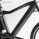 Bicicleta elétrica da cidade da bicicleta da escala longa com o motor sem escova do cubo traseiro