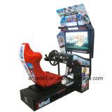 Machine van het Spel van de Autorennen van het videospelletje de Muntstuk In werking gestelde
