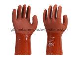 Gants résistants 980 de travail de gants de type de pétrole neuf de PVC