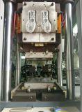 Máquina da injeção de 2 solas do parafuso da estação 4